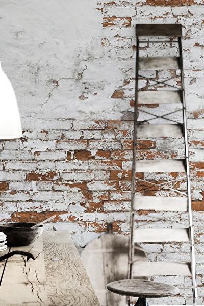 Industrieel behang stenen muur1 - Behang Met Betonlook