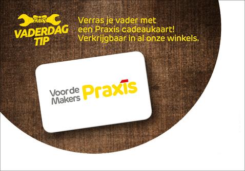 Extra cadeautip: Praxis Cadeaukaart!