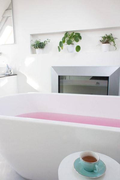 Van badkamer naar slaapkamer praxis blog - Betegelde ensuite marmeren badkamers ...