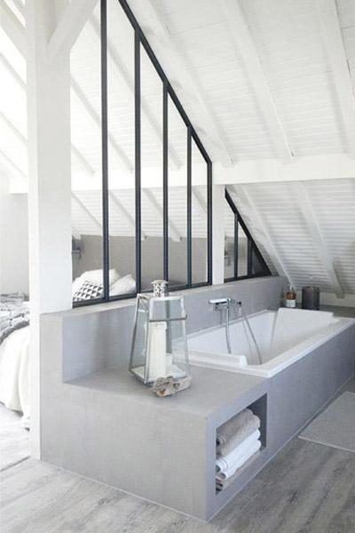 Van badkamer naar slaapkamer praxis blog - Glazen kamer bad ...