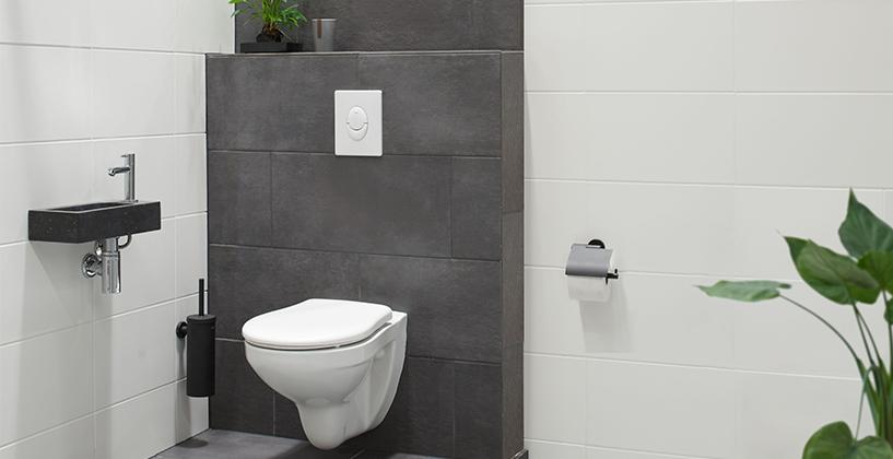 Achterwand Hangend Toilet : Toilet renoveren doe je zo voordemakers