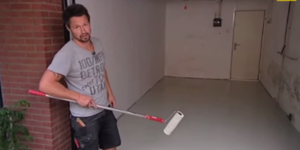 Vloercoating aanbrengen