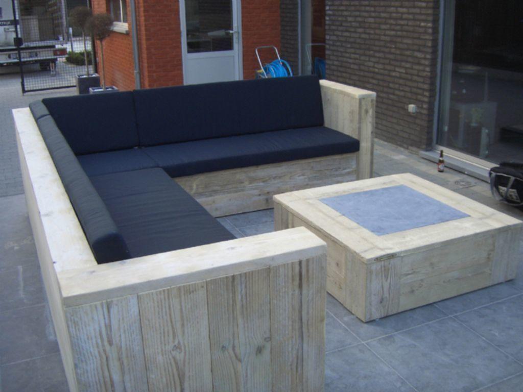 Steigerhout hoekbank maken zelf een prachtige en comfortabele
