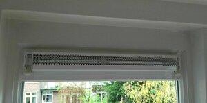 Ventilatierooster in raam (TIP)