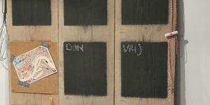 Maak een weekplanner van steigerhout