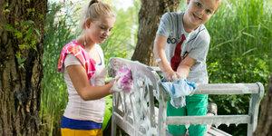 Je tuinmeubel schilderen of beitsen