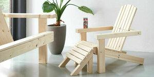 Maak je eigen tuinstoel speciaal voor de kinderen