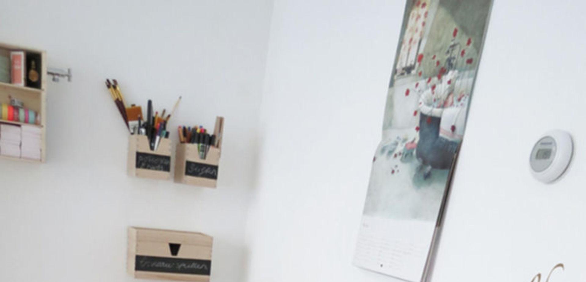 Bureau Maken Van Ikea Ladeblokken Steigerhout