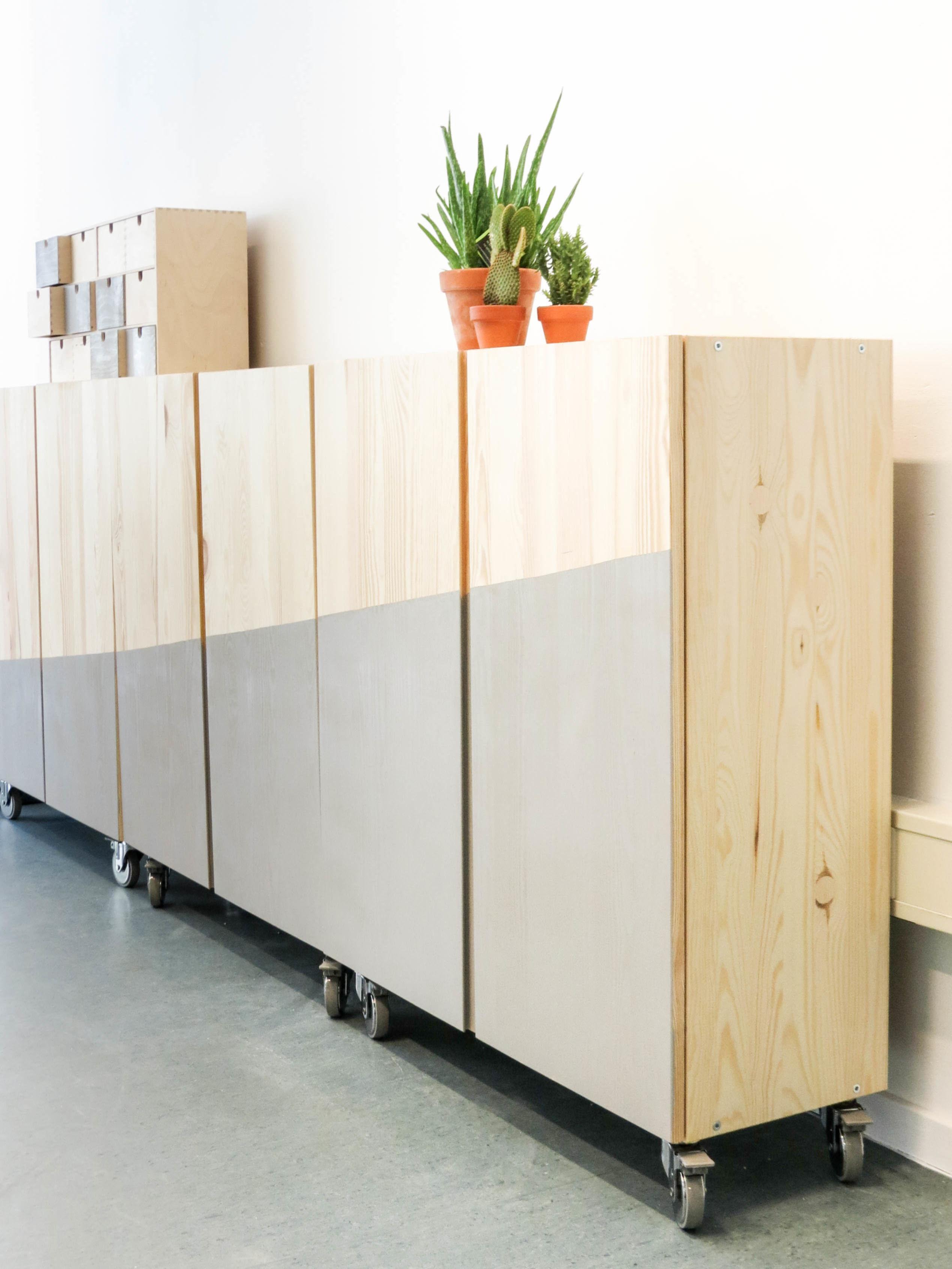 Zwevende Wandkast Ikea.Kast Maken Voordemakers Nl
