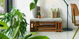 Salontafel met betonblad maken