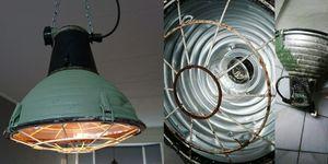 Pimpen industriële lamp