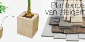 Plantenbak van steigerhout maken