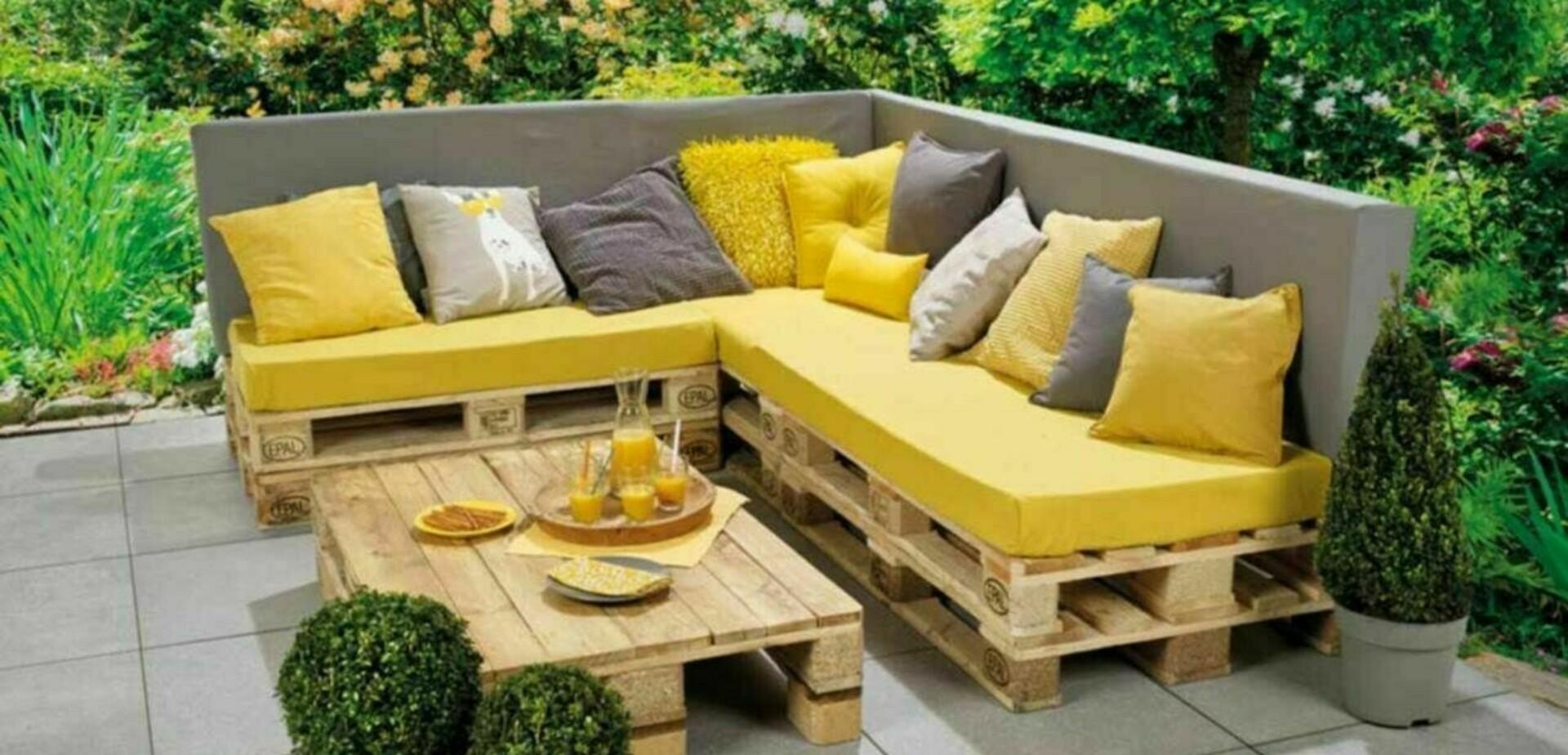 Goede Loungebank en tafel met pallets maken | voordemakers.nl KJ-69