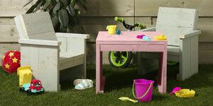 Kinderstoeltje voor bij de kindertuinset
