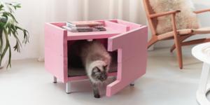 Maak een kattenhuisje