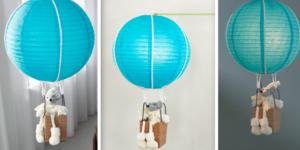 Hanglamp voor de babykamer
