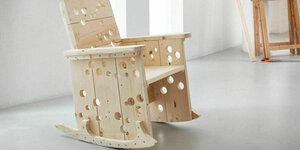 De Praxis schommelstoel maken