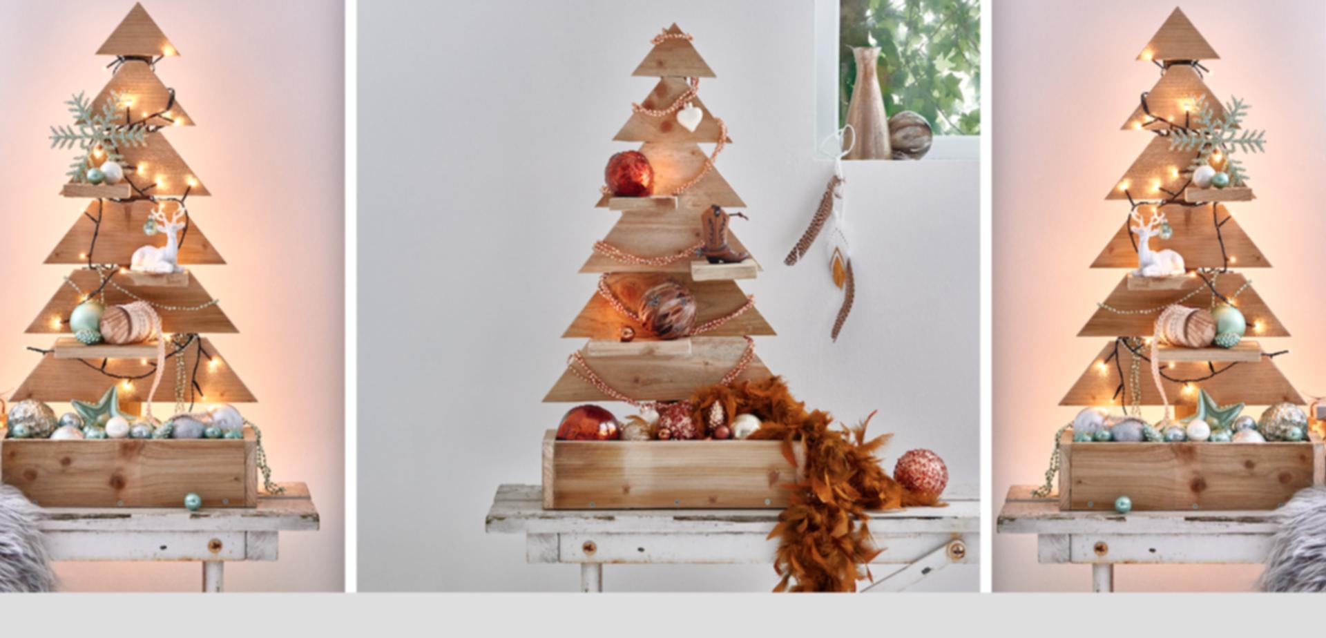 Alternatieve Kerstboom Van Een Oude Pallet Voordemakers Nl