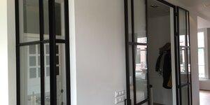 Stalen binnendeuren & raam