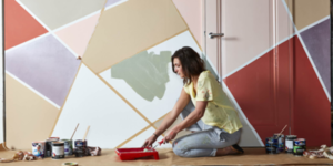 Color blocking: combineer de juiste kleuren op jouw muur!