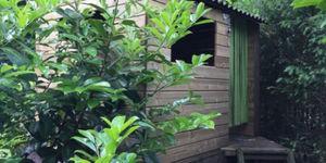Boomhut in de tuin