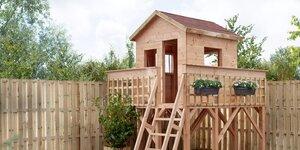 Boomhut bouwen | Deel 3 - Trap + hekwerk