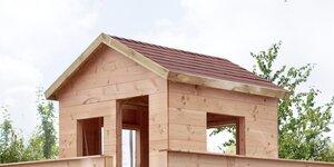 Boomhut bouwen | Deel 4 - Puntdak