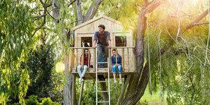 Slapen in een boomhut: zo doe je dat!