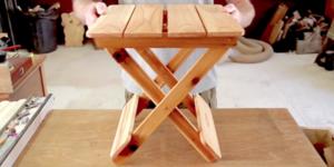 Opklapbare Kampeertafel maken