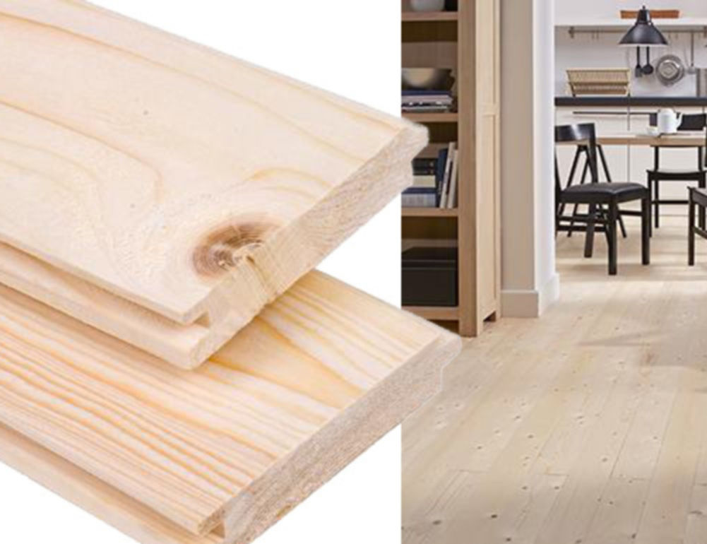 Vuren houten vloer zwevend leggen lijmen of niet voordemakers