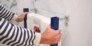 Toilet renoveren | Inbouwreservoir plaatsen (1/4)