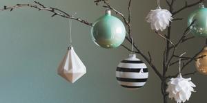 Kersttrend: een witte, Scandinavische kerst