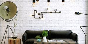 4x Originele verlichting voor in huis