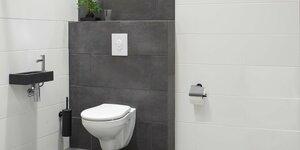 Toilet renoveren | Tegelen & wandcloset plaatsen (3/4)