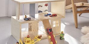 Poppenhuis of garage maken