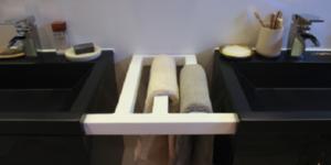 Je eigen handdoekenrekje maken