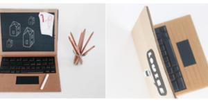 Maak je eigen kartonnen laptop
