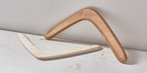 Een boomerang maken
