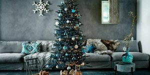 Kersttrend: winters blauw