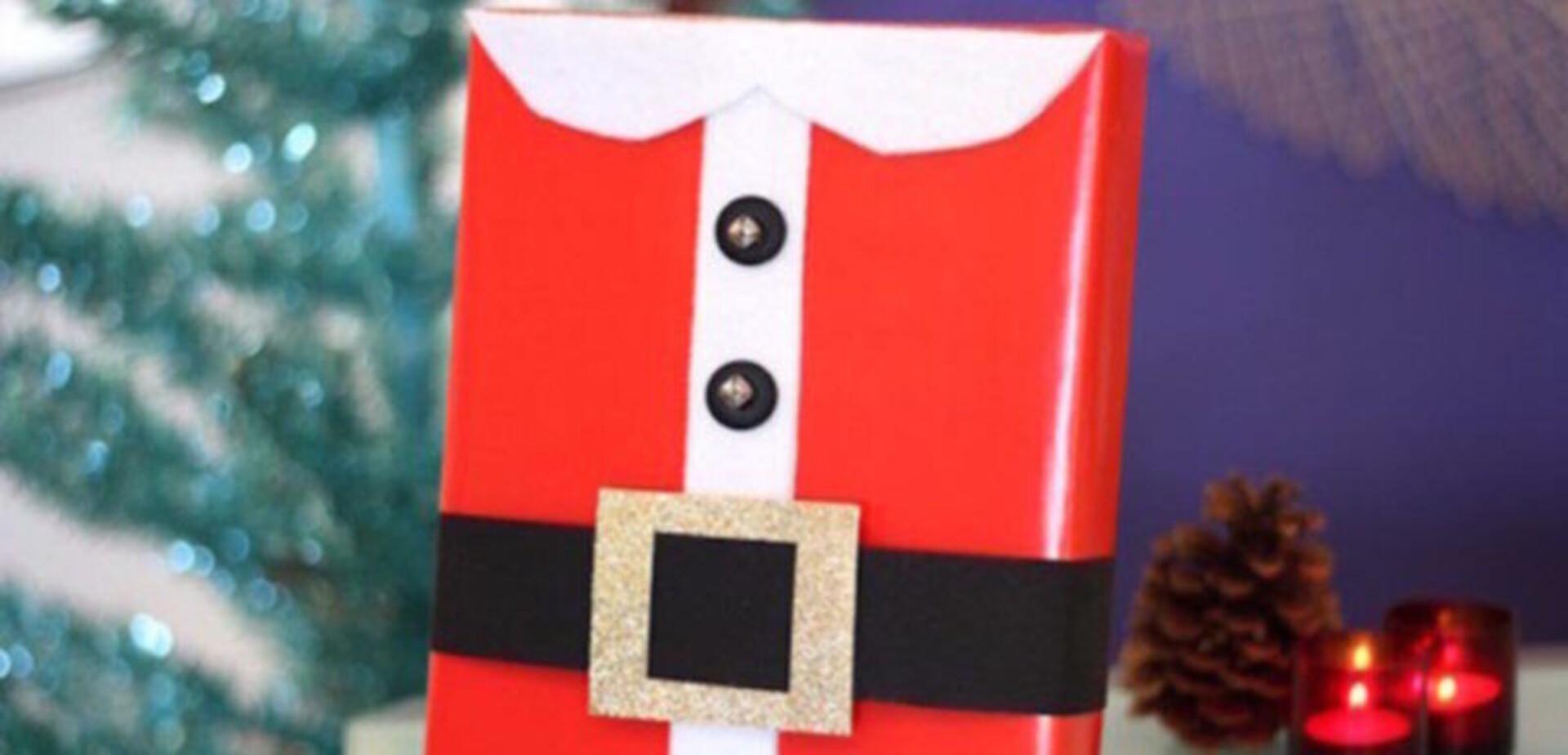 Kerstman Pak Verpakking Maken Voordemakersnl