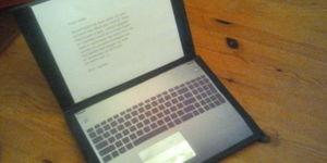 Laptop surprise
