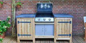 Koken in eigen tuin?  Maak je eigen buitenkeuken!
