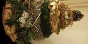 Kransen kerstboom