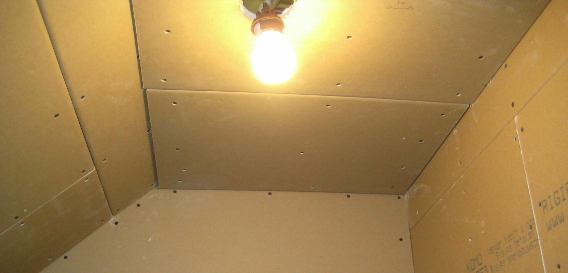 Ongebruikt Gipsplaten monteren | voordemakers.nl CB-19