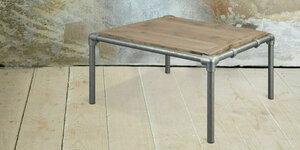 Steigerbuizen salontafel maken