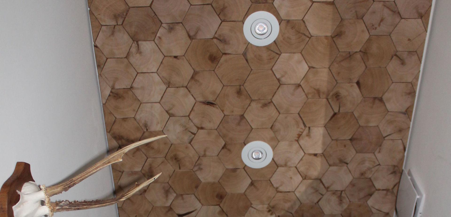 Installeren Led inbouwspots in verlaagd plafond | voordemakers.nl