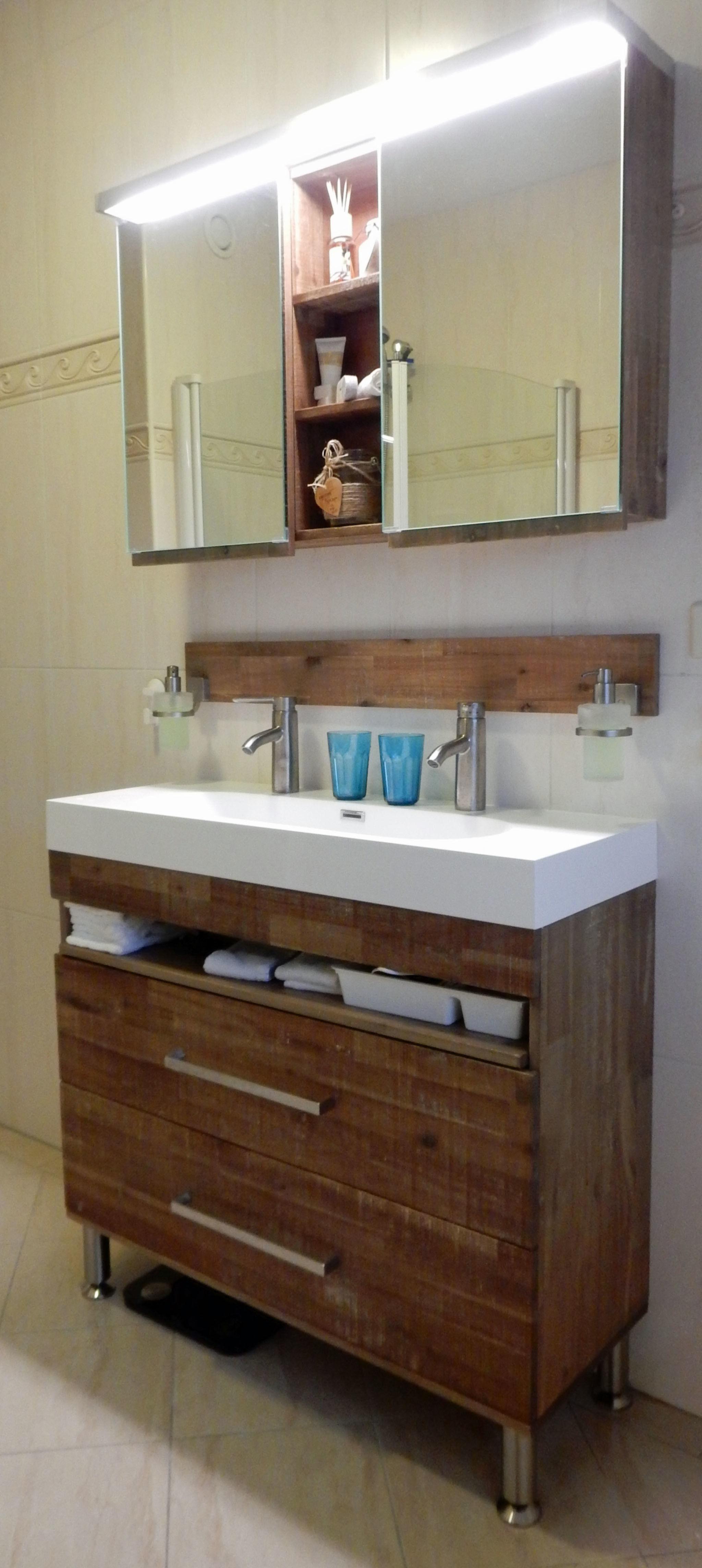 Fabulous badkamermeubel op poten rv97 belbin info for Badkamermeubel ontwerpen
