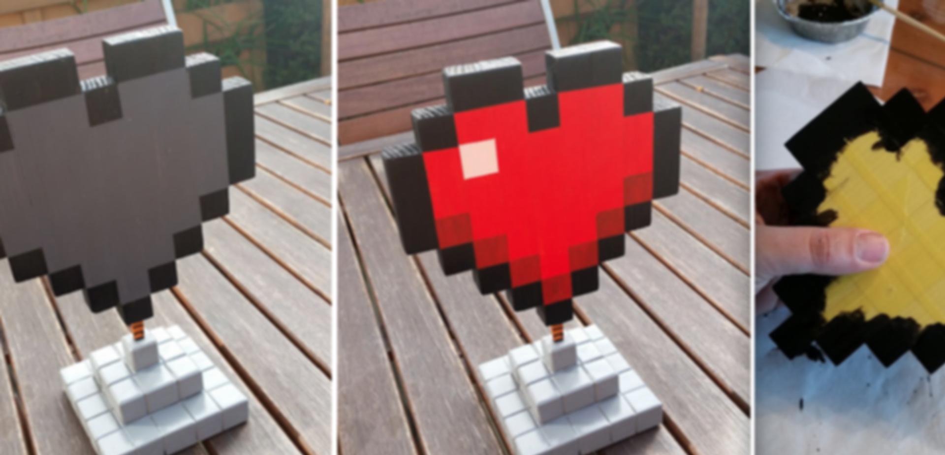 Minecraft Hart Voor Valentijn Leuk Voor De Gamers Onder Ons