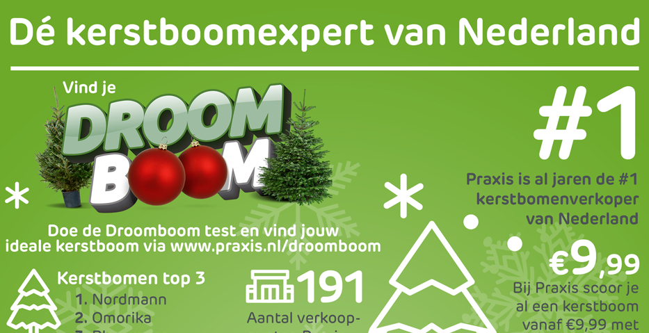 Praxis helpt bij het vinden en mooi houden van Droomboom