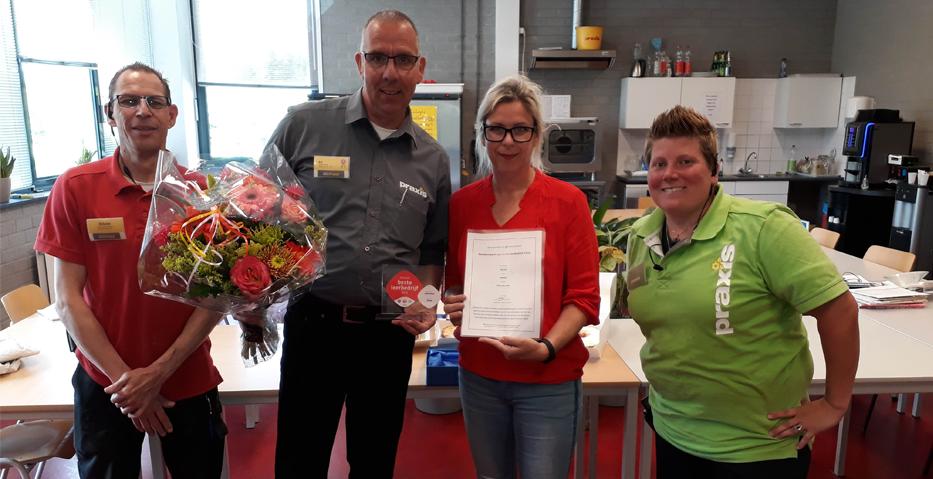 Praxis Zoetermeer winnaar beste leerbedrijf 2019 Zuid-Holland
